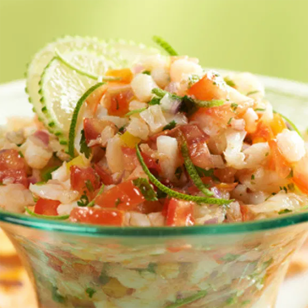 Fresh and Easy Zesty Shrimp Salsa