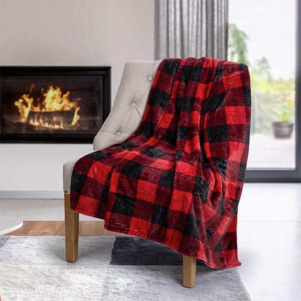Chair with Throw