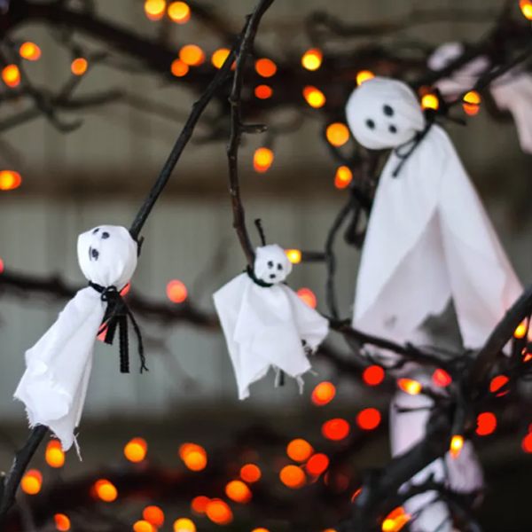 A Halloween Tree is The Decor Trend You Need This Fall