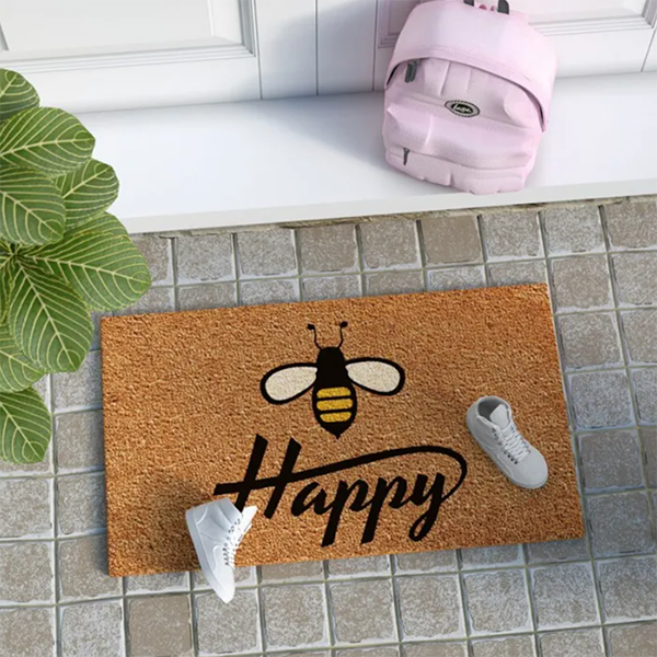 Darling Doormats and Front Door Touches To Welcome You  Home