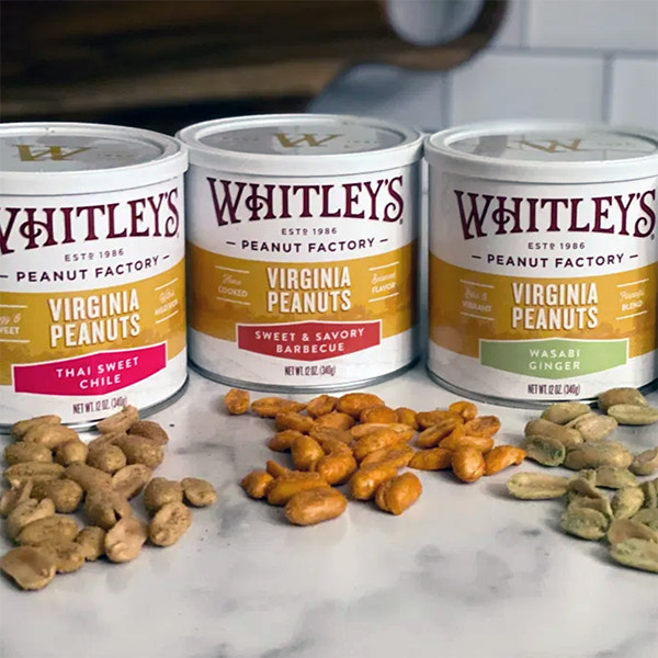 Why I'm NUTS For Whitley's Peanuts