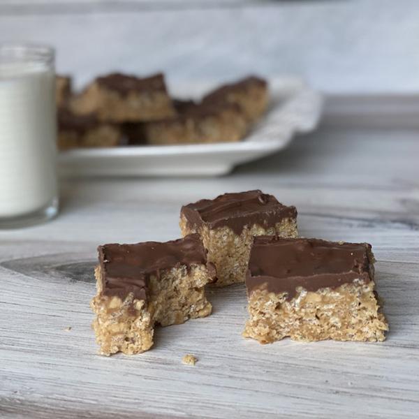 Let's Make Peanut Butter Chocolate Scotcheroos