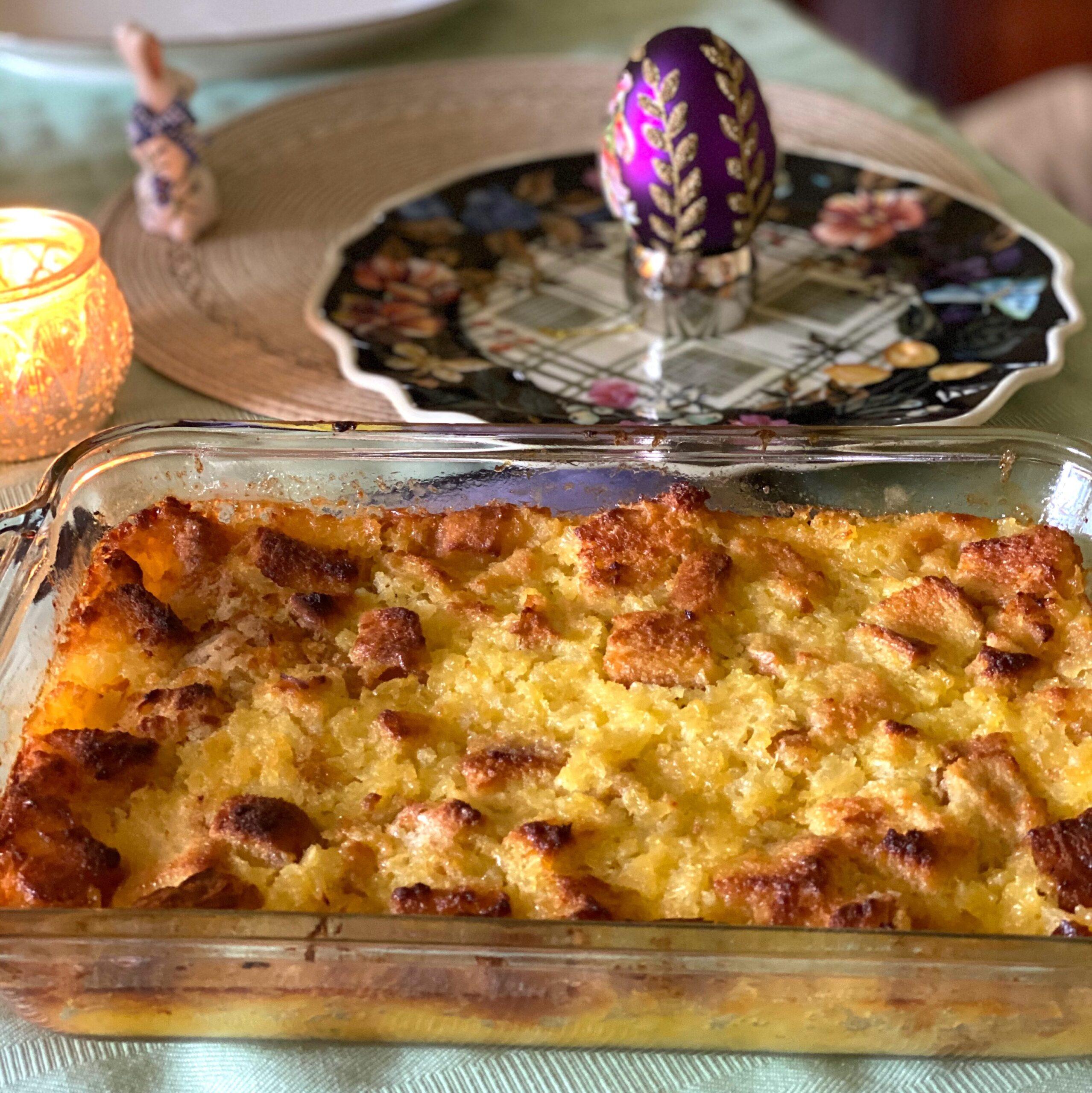 Pineapple bake dish