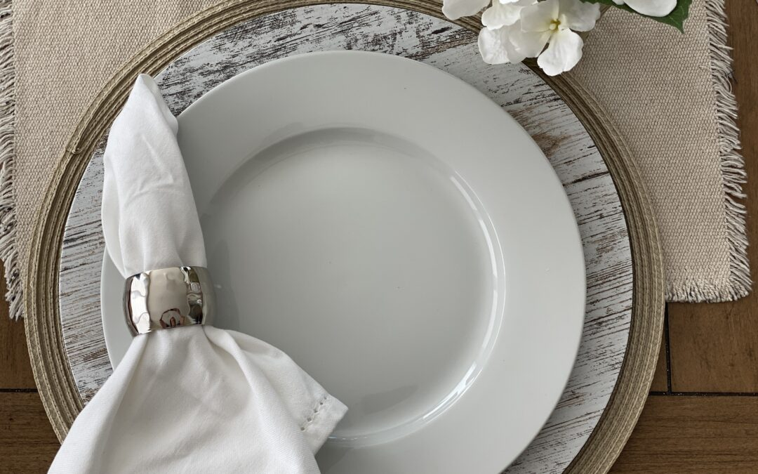 White Plates Are The Little Black Dress For Your Tabletop