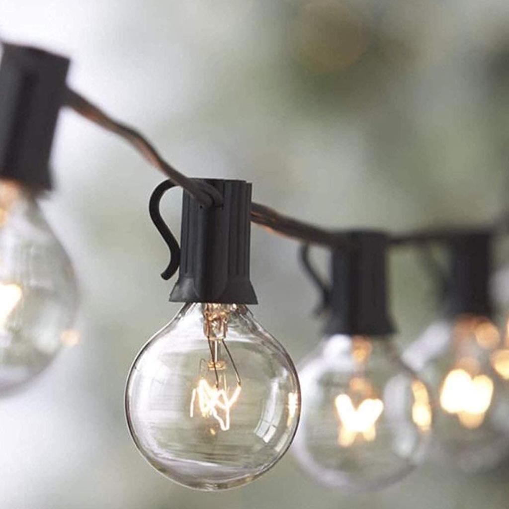 Lights for backyard bbq