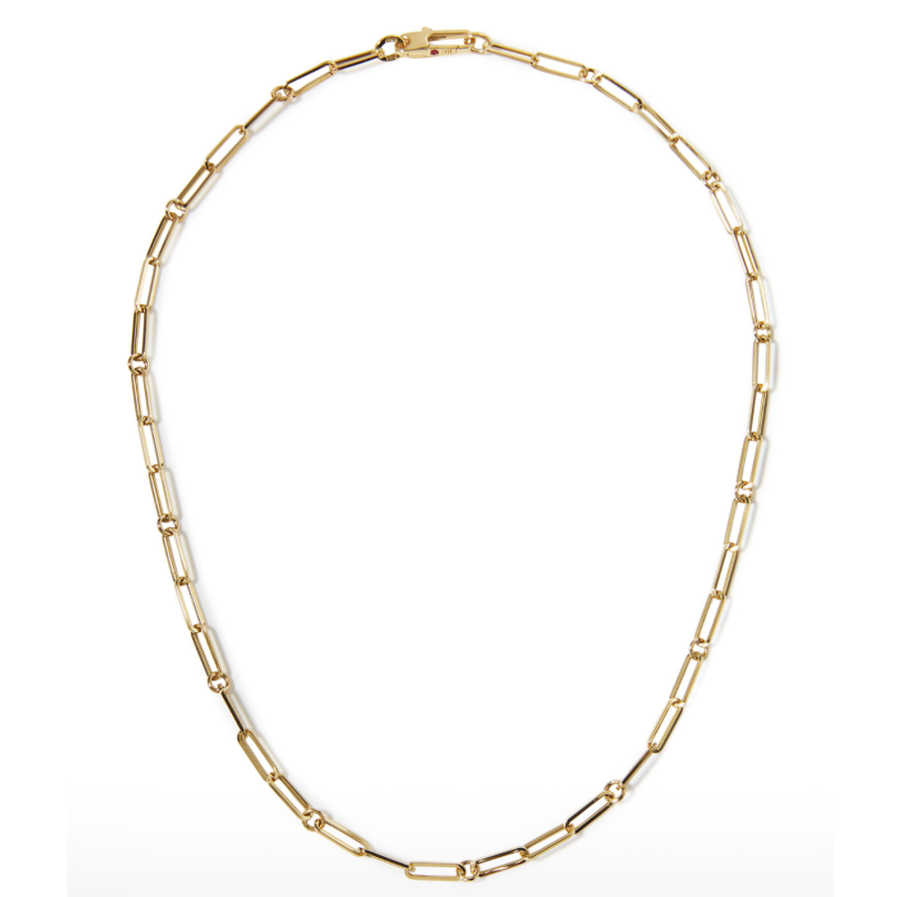 look for less paperclip necklace