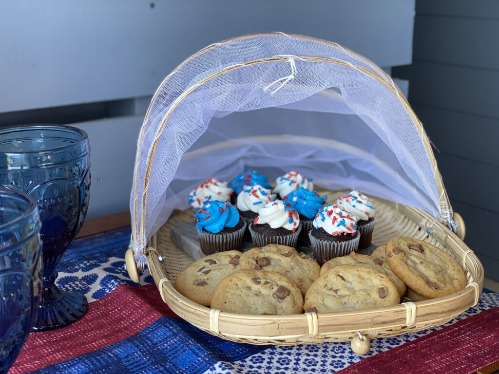 cookies at a summer party