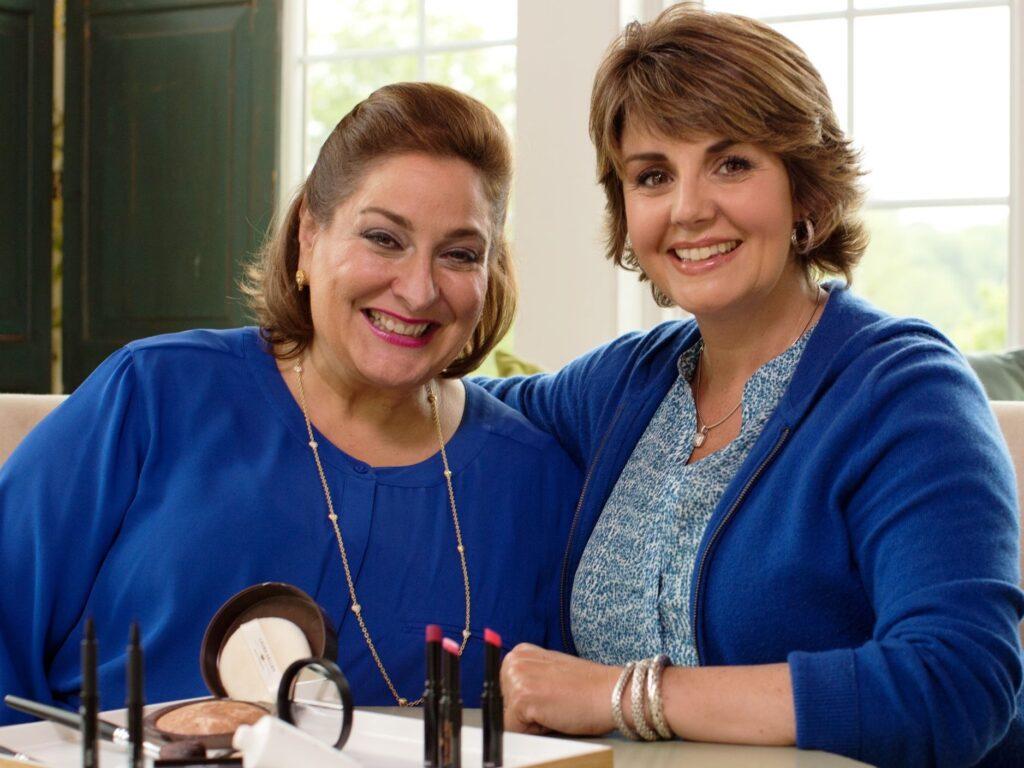 Laura Geller and Jill Bauer