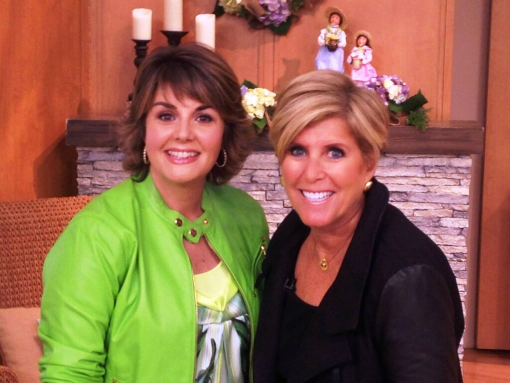 Suze orman and Jill Bauer