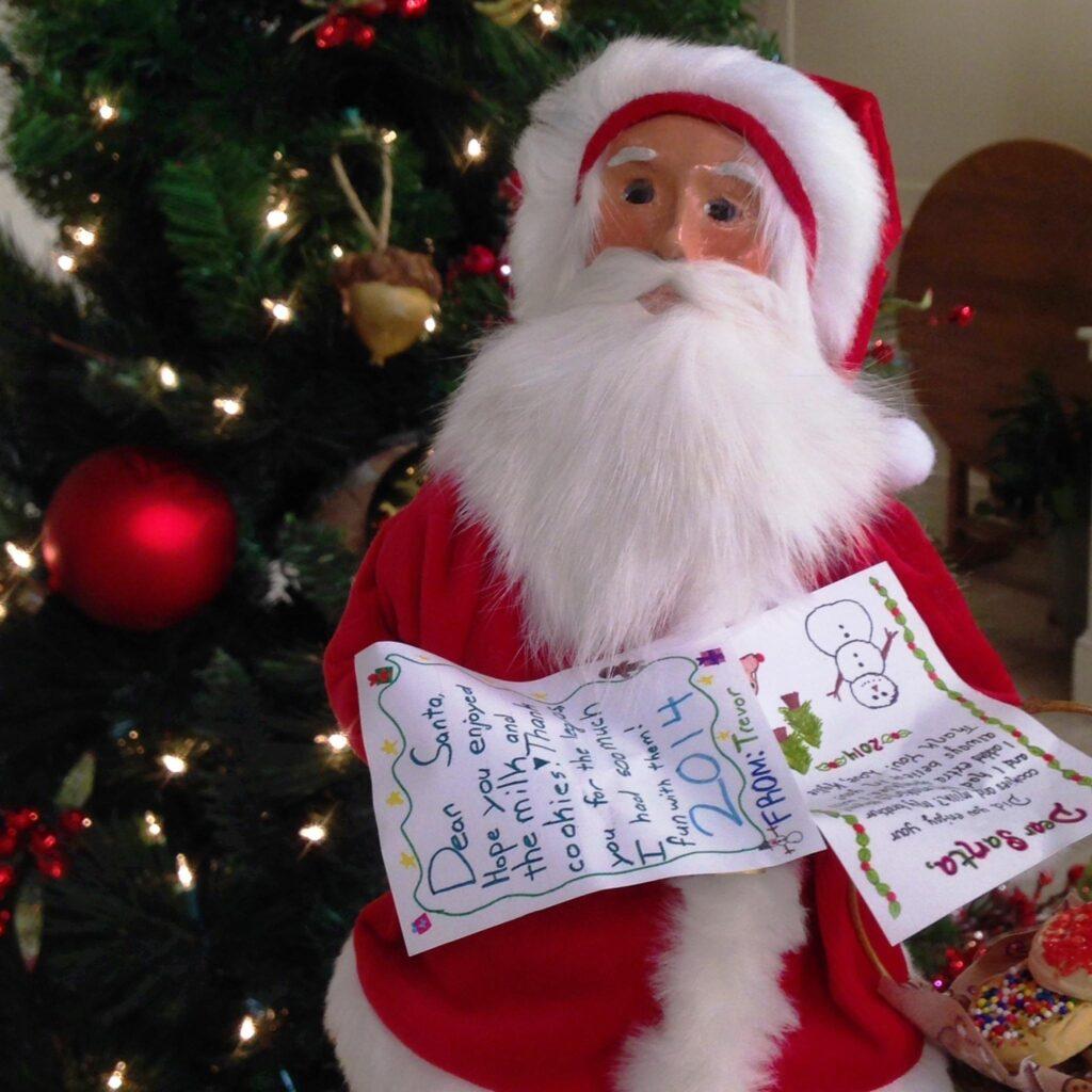 Byers Choice Santa by Jill Bauer