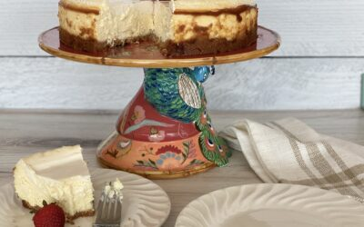 Creamy And Delicious Baked Cheesecake