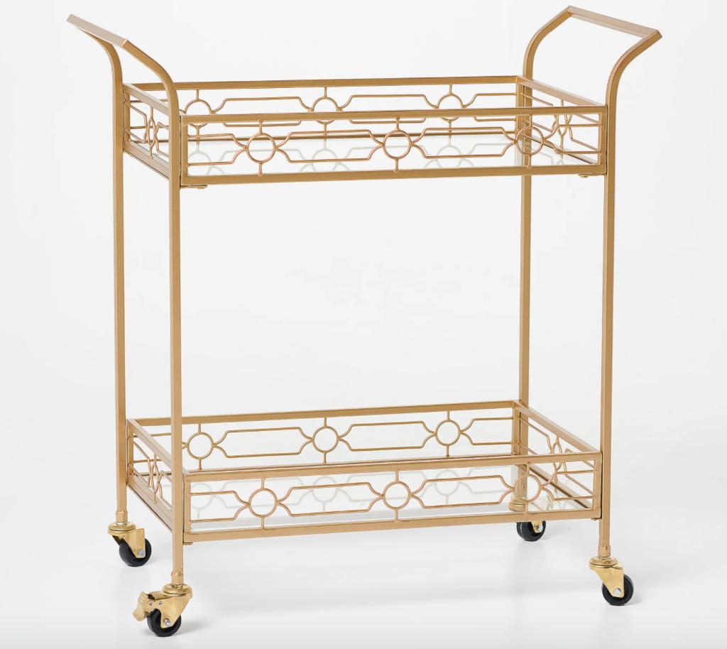 bar cart gold