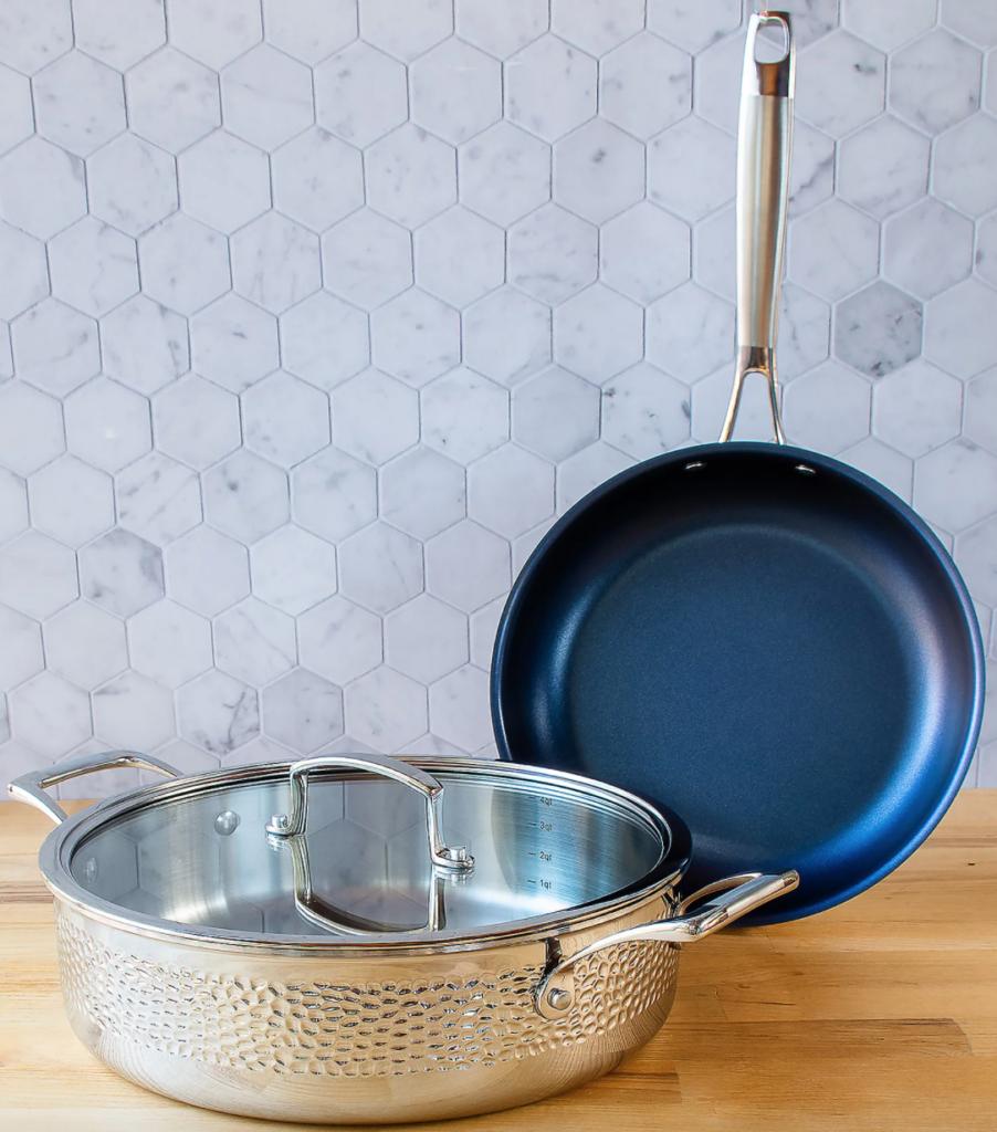 blue jean chef cookware set