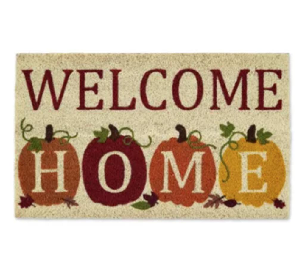 doormat welcome home autumn